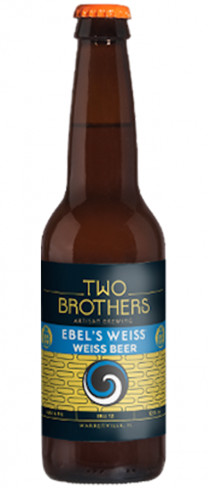 Ebel's Weiss by Two Brothers Brewing Company in Illinois, United States