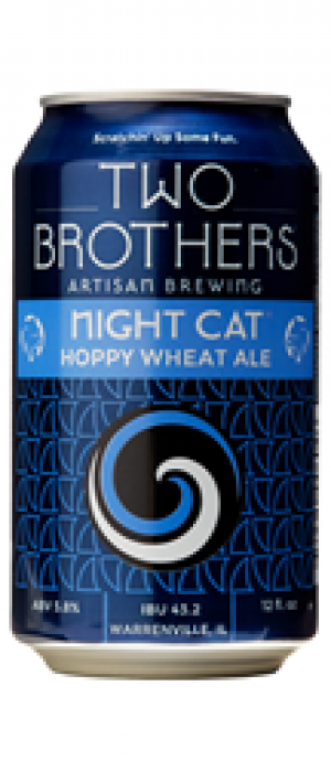 Night Cat by Two Brothers Brewing Company in Illinois, United States