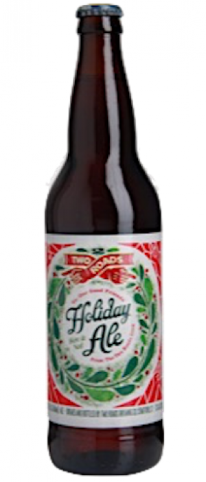 Holiday Ale Bière de Garde by Two Roads Brewing Company in Connecticut, United States