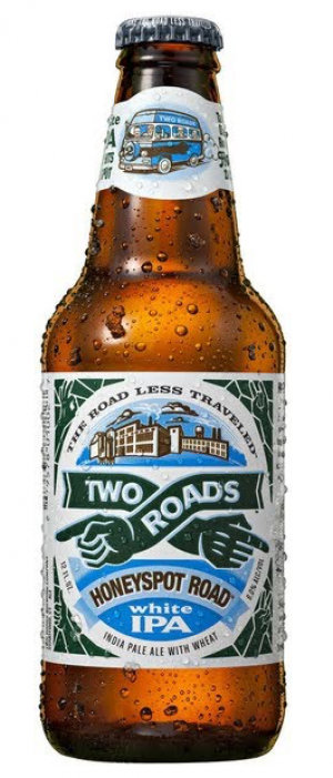 Honeyspot Road IPA by Two Roads Brewing Company in Connecticut, United States
