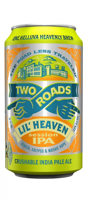 Lil Heaven Session IPA by Two Roads Brewing Company in Connecticut, United States