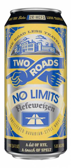 No Limits Hefeweizen by Two Roads Brewing Company in Connecticut, United States