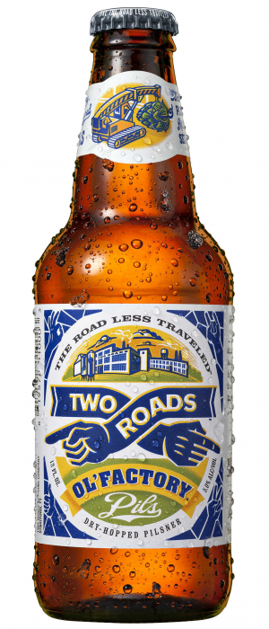 Ol' Factory Pils by Two Roads Brewing Company in Connecticut, United States