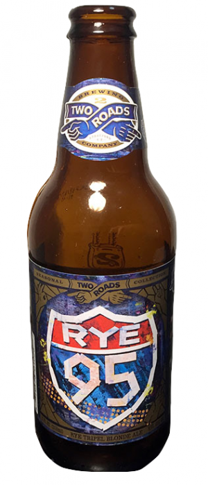 Rye 95 Tripel by Two Roads Brewing Company in Connecticut, United States
