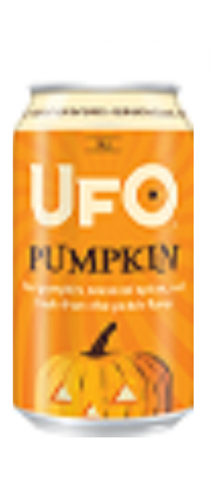 UFO Pumpkin by Harpoon Brewery and Beer Hall in Massachusetts, United States