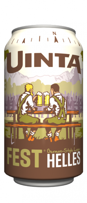 Fest German-Style Helles by Uinta Brewing Company in Utah, United States