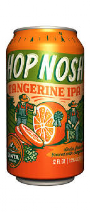Hop Nosh Tangerine IPA by Uinta Brewing Company in Utah, United States