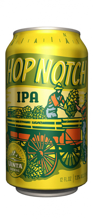 Hop Notch IPA by Uinta Brewing Company in Utah, United States