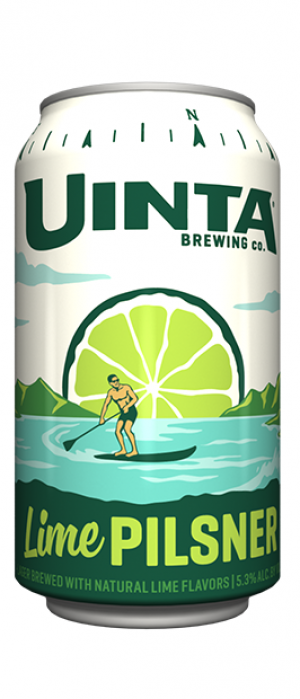 Lime Pilsner by Uinta Brewing Company in Utah, United States