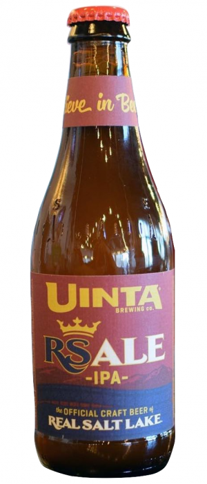 RS Ale IPA by Uinta Brewing Company in Utah, United States