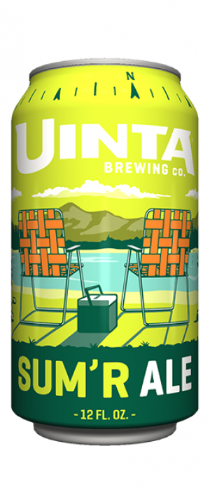 Sum'r Ale by Uinta Brewing Company in Utah, United States