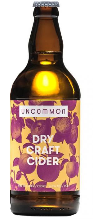 Dry Craft Cider by Uncommon Cider Co. in Alberta, Canada