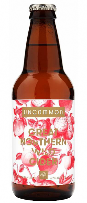 Great Northern Wild Cider by Uncommon Cider Co. in Alberta, Canada