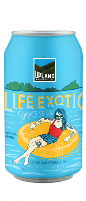 Life Exotic by Upland Brewing Company in Indiana, United States
