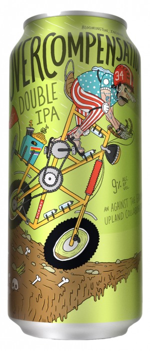 Overcompensation by Upland Brewing Company in Indiana, United States