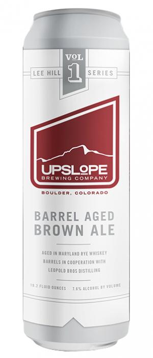 Barrel Aged Brown Ale by Upslope Brewing Company in Colorado, United States