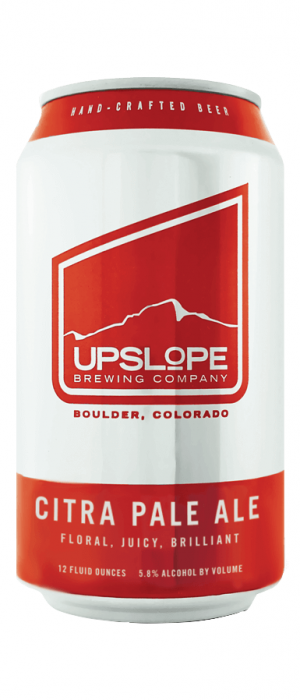 Citra Pale Ale by Upslope Brewing Company in Colorado, United States