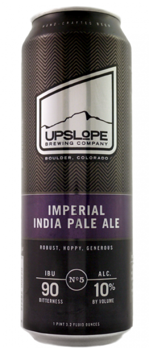 Imperial India Pale Ale by Upslope Brewing Company in Colorado, United States