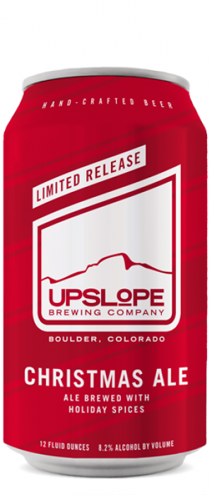 Christmas Ale by Upslope Brewing Company in Colorado, United States