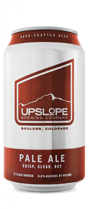 Pale Ale by Upslope Brewing Company in Colorado, United States