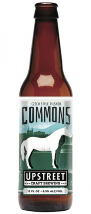 Commons: Czech Style Pilsner by Upstreet Craft Brewing in Prince Edward Island, Canada