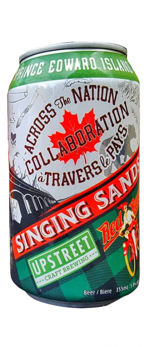 Singing Sands by Upstreet Craft Brewing in Prince Edward Island, Canada