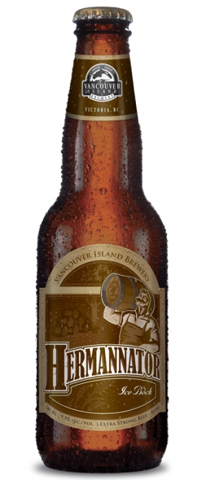 Hermannator Ice Bock by Vancouver Island Brewing in British Columbia, Canada