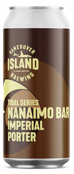 Nanaimo Bar Imperial Porter by Vancouver Island Brewing in British Columbia, Canada