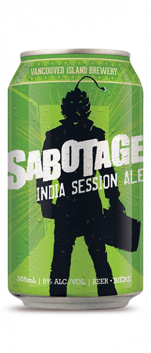 Sabotage ISA by Vancouver Island Brewing in British Columbia, Canada