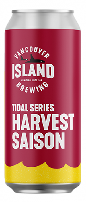 Tidal Series: Harvest Saison by Vancouver Island Brewing in British Columbia, Canada