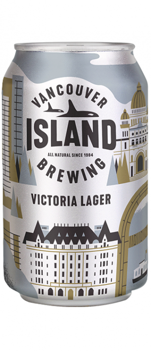 Victoria Lager by Vancouver Island Brewing in British Columbia, Canada