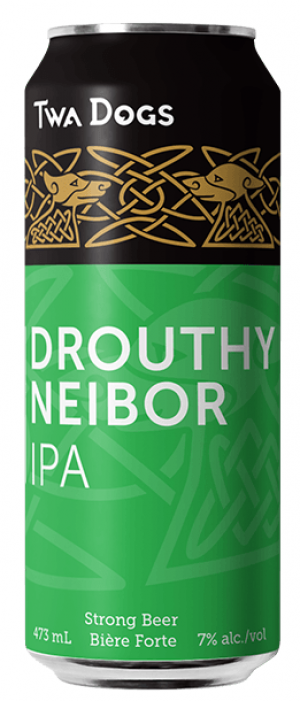 Twa Dogs The Drouthy Neibor IPA by Victoria Caledonian Brewery & Distillery in British Columbia, Canada