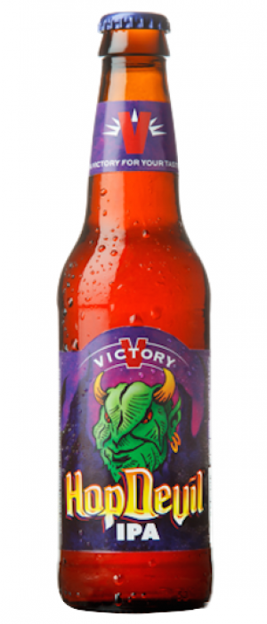 HopDevil IPA by Victory Brewing Company in Pennsylvania, United States