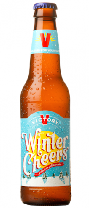 Winter Cheers by Victory Brewing Company in Pennsylvania, United States
