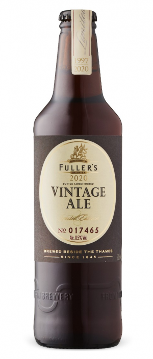 Vintage Ale 2020 by Fuller's Brewery in London - England, United Kingdom