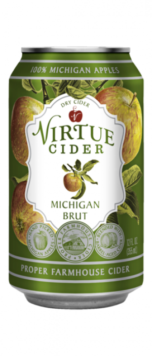 Michigan Brut by Virtue Cider in Michigan, United States