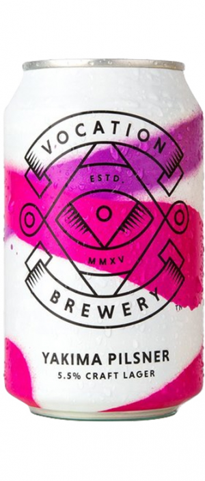 Yakima Pilsner by Vocation Brewery in West Yorkshire - England, United Kingdom