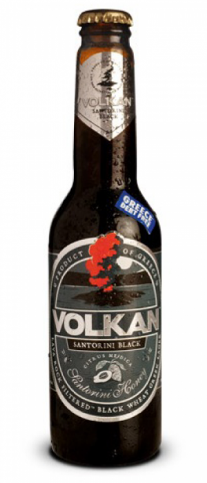 Volkan Black by Volkan Beer in South Aegean, Greece