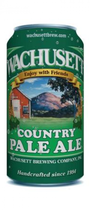 Country Pale Ale by Wachusett Brewing Company in Massachusetts, United States