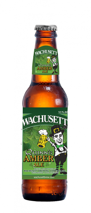 Quinn's Amber Ale by Wachusett Brewing Company in Massachusetts, United States