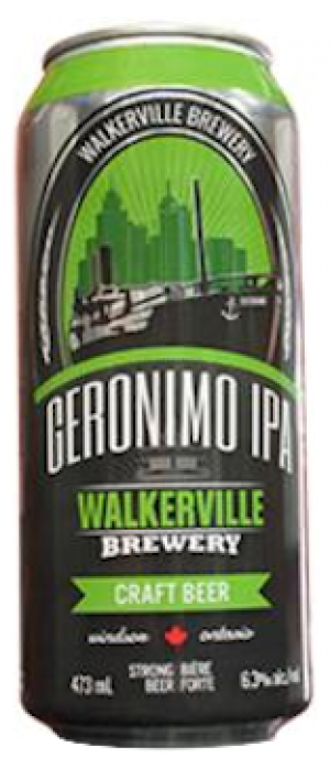 Geronimo IPA by Walkerville Brewery in Ontario, Canada