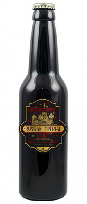 Kremlin Russian Imperial Stout by Walkerville Brewery in Ontario, Canada