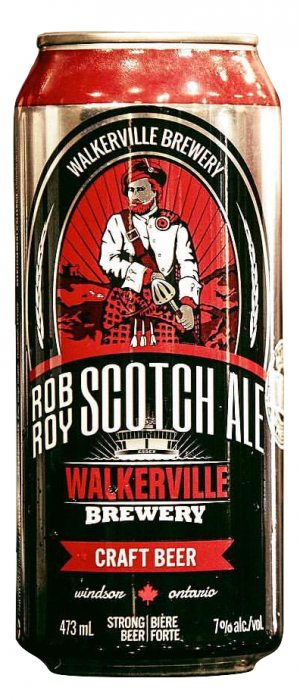 Rob Roy Scotch Ale by Walkerville Brewery in Ontario, Canada
