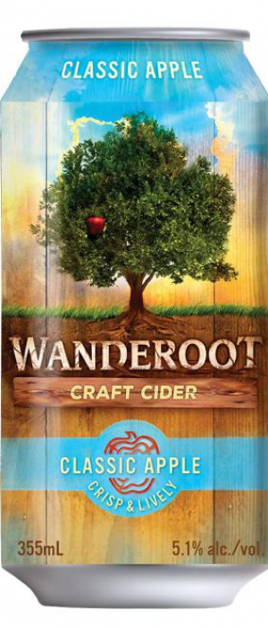 Wanderoot Craft Cider Classic Apple
