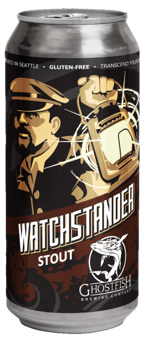 Watchstander Stout by Ghostfish Brewing Company in Washington, United States