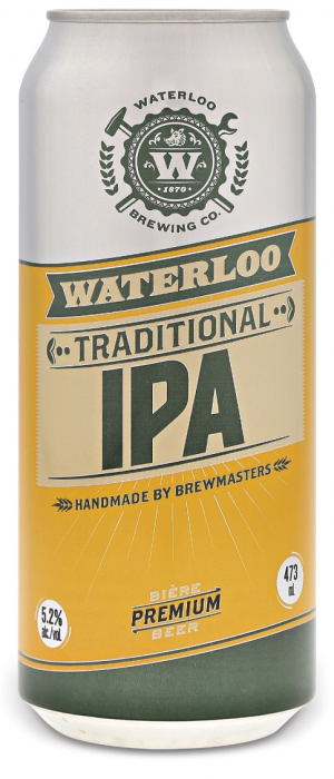 Traditional IPA by Waterloo Brewing in Ontario, Canada