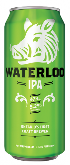 Waterloo IPA by Waterloo Brewing in Ontario, Canada