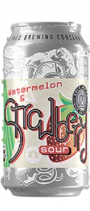 Watermelon & Strawberry Sour by Big Shed Brewing Co. in South Australia, Australia