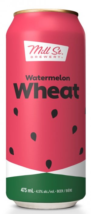 Watermelon Wheat by Mill Street Brewery in Ontario, Canada