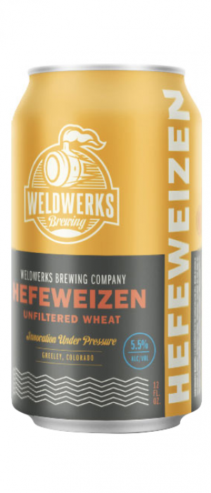 Hefeweizen by WeldWerks Brewing Company in Colorado, United States
